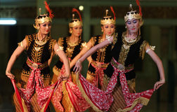 Dancers performed Royalty Free Stock Image
