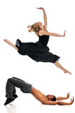 Dancers performing Royalty Free Stock Photography