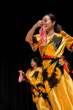 Dancers - Tinikling - Filipino Tradition Stock Photography