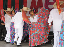 Mexican folkloric ballet Royalty Free Stock Photography