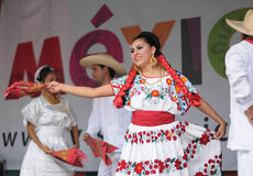 Mexican folkloric dance Stock Image