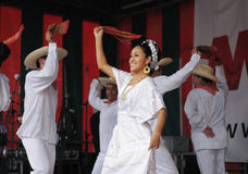 Xochicalli Mexican folkloric ballet Royalty Free Stock Photography