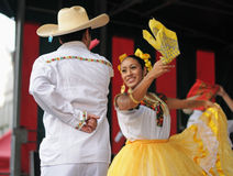 Dancers from Mexico Royalty Free Stock Images