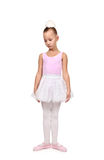 Dances ballet kid Royalty Free Stock Image