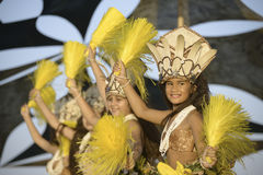 Dances of the South Pacific Islands Royalty Free Stock Image