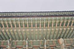 Dancheong fotografia stock libera da diritti