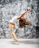 Dancind girl Royalty Free Stock Images