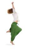 Dancing. Sportive woman fun and dancing Stock Image