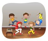 dancing Stock Afbeelding