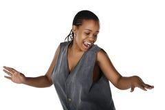 Dancing africano Immagini Stock Libere da Diritti