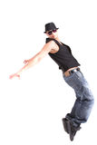 Dancing alla moda Immagini Stock