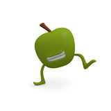 Dancing apple Royalty Free Stock Photo