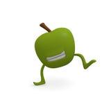 Dancing apple Royalty Free Stock Photo