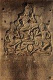 Dancing apsara devas Stock Photo