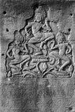 Dancing apsara devas Royalty Free Stock Image