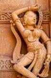 The dancing apsara Royalty Free Stock Image