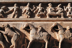 Dancing Apsaras Stock Photos