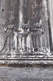 Dancing Apsaras  in Angkor Wat temple , Cambodia Stock Photos
