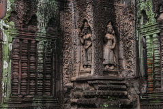 Dancing Asparas,Angkor Stock Photo