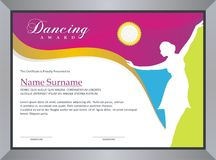 Dancing Award royalty free stock photos