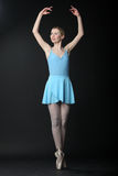 Dancing ballerina Stock Images