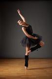 Dancing ballerina Stock Photo