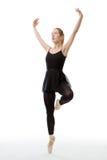 Dancing ballerina Stock Photos