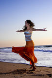 Dancing beauty Royalty Free Stock Image