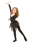 Dancing beauty girl Royalty Free Stock Images