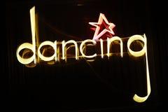 Dancing blinking banner Stock Photography