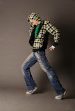 Dancing boy Stock Photos