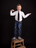 Dancing boy Royalty Free Stock Photo