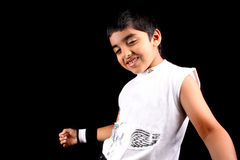 Dancing Boy Stock Image