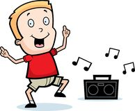Dancing Boy Royalty Free Stock Images