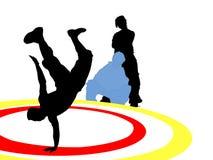 Dancing: Breakdance Immagini Stock