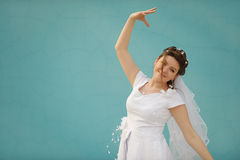 The dancing bride Stock Photography