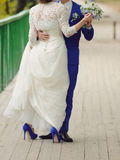 Dancing Bride and Groom Royalty Free Stock Photography