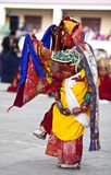 Dancing buddhists lama Royalty Free Stock Images