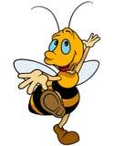 Dancing Bumblebee. Colored Cartoon Illustration, Vector stock illustration