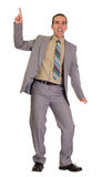 Dancing Businessman Royalty Free Stock Photography