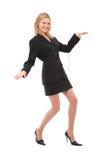 Dancing businesswoman Stock Photos