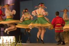 Dancing in Cantonigròs Stock Image