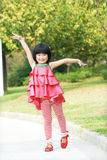 Dancing child Royalty Free Stock Photos