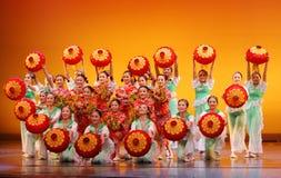 Dancing cinese Fotografia Stock Libera da Diritti