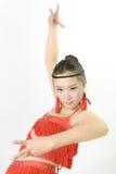 Dancing cinese di bellezza Immagini Stock Libere da Diritti