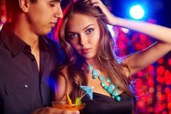 Dancing at club Royalty Free Stock Image