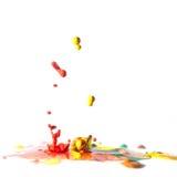 Dancing colors Stock Image