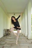 Dancing in the corridor Stock Images