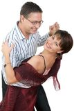 Dancing couple stock photos