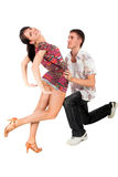 Dancing couple Stock Photography